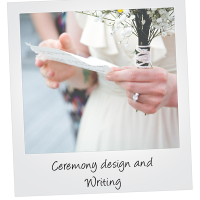 Ceremony design tilted