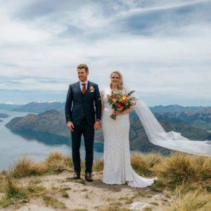 Coromandel Peak Heli Wedding Bliss